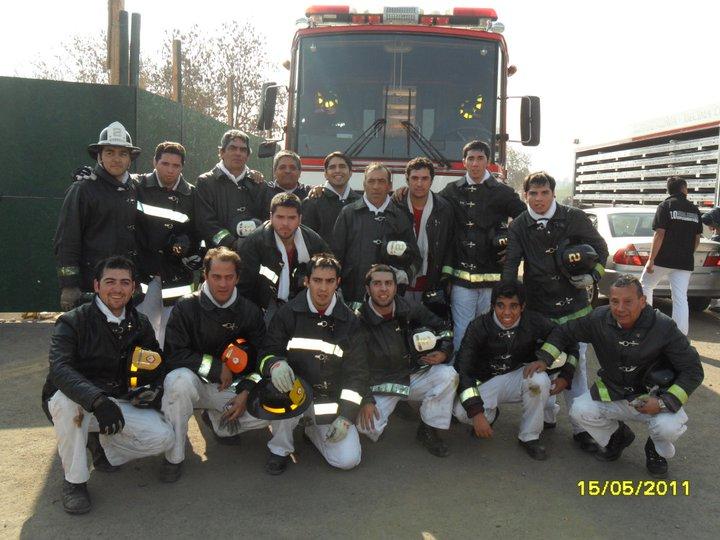 Equipo Segunda Compañía, Competencia Cdte. Alberto Ried Silva, año 2011