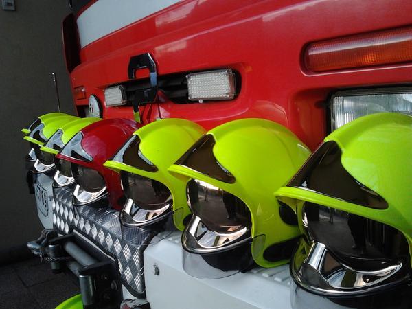 El Cuerpo de Bomberos de Ñuñoa adquirió nuevos cascos de rescate para todas  las Compañías de la institución. Se trata del casco modelo F-1 de la marca  MSA ... e6c3a517c657