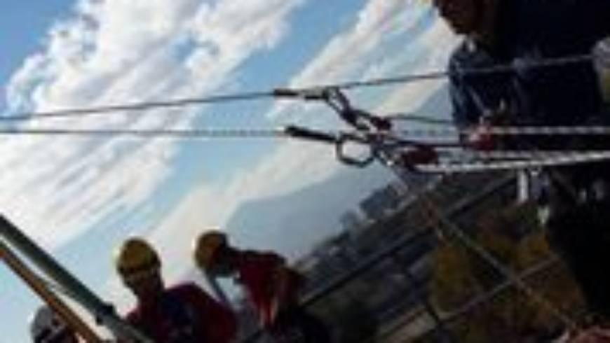 Segundinos aprueban exigente curso de cuerdas GRIMP IMP2