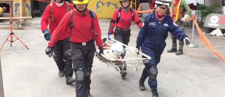 5 Segundinos reciben importante acreditación de Rescate Urbano en curso internacional