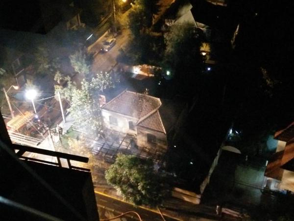 Incendio de proporciones afectó a restaurant en Ñuñoa