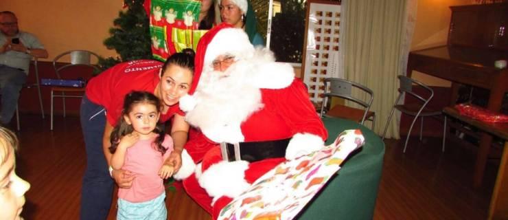 La sonrisa de los niños presente en nuestra «Fiesta Navideña»