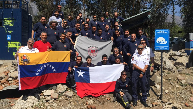 Bomberos de Ñuñoa marcando la pauta en capacitación a nivel nacional: Primer Curso BREC, Nivel pesado en Chile