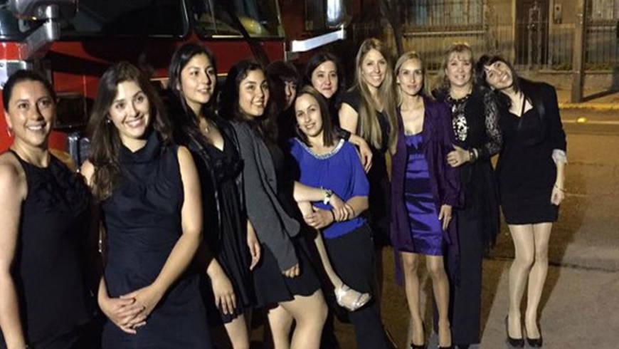 20 años del ingreso de mujeres al Cuerpo de Bomberos de Ñuñoa