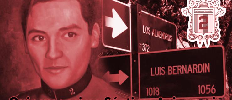 Conmemoramos el 57 aniversario de la muerte de nuestro mártir Luis Bernardín Orellana